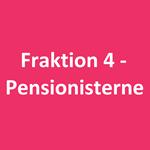 Fraktion 4 - pensionisterne