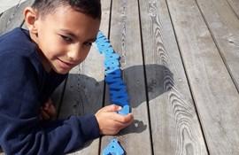 Louiseskolen i Haderslev anvender læringshaver i sin specialundervisning.