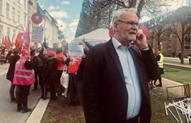 Dennis Kristensen: Vi laver ikke en kommunal aftale uden lærerne