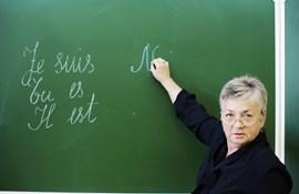 Chokerende få skoler udbyder fransk