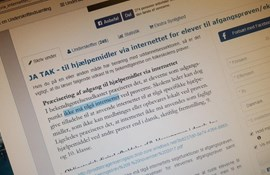It-vejleder samler underskrifter mod lukning af netadgangen under prøverne