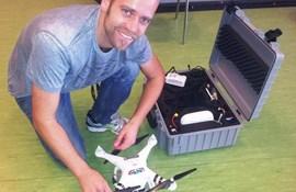 Specialklasser underviser i drone-flyvning