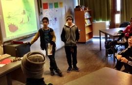 Elever 3.X Peder Lykke Skolen - fremlæggelse Kristendomskundskab