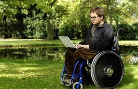 Handicappet kørestol specialundervisning