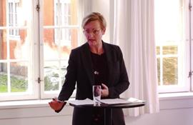 Pernille Rosenkrantz-Theil Undervisningsminister Debat på Læringsfestival 2021  Gratis i forbindelse med omtale af debatten.