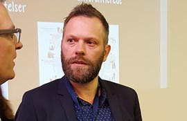 formand for Århus Lærerforening på konference om klogere offentlig styring
