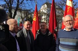 Lars Qvistgaard, Flemming Vinther, Anders Bondo, Dennis Kristensen.