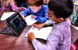 ipad digitale læremidler indskoling