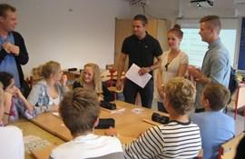 Studerende praktik folkeskole klasse undervisning skoletilknytning