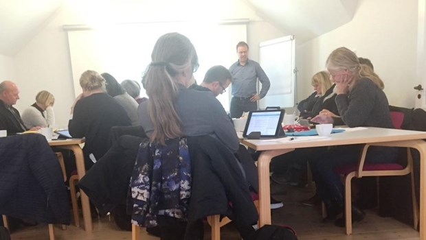 Formand for Overenskomstudvalget i DLF Gordon Ørskov Madsen rejser i disse dage rundt i landet for at samle input til de kommende overenskomstforhandlinger.
