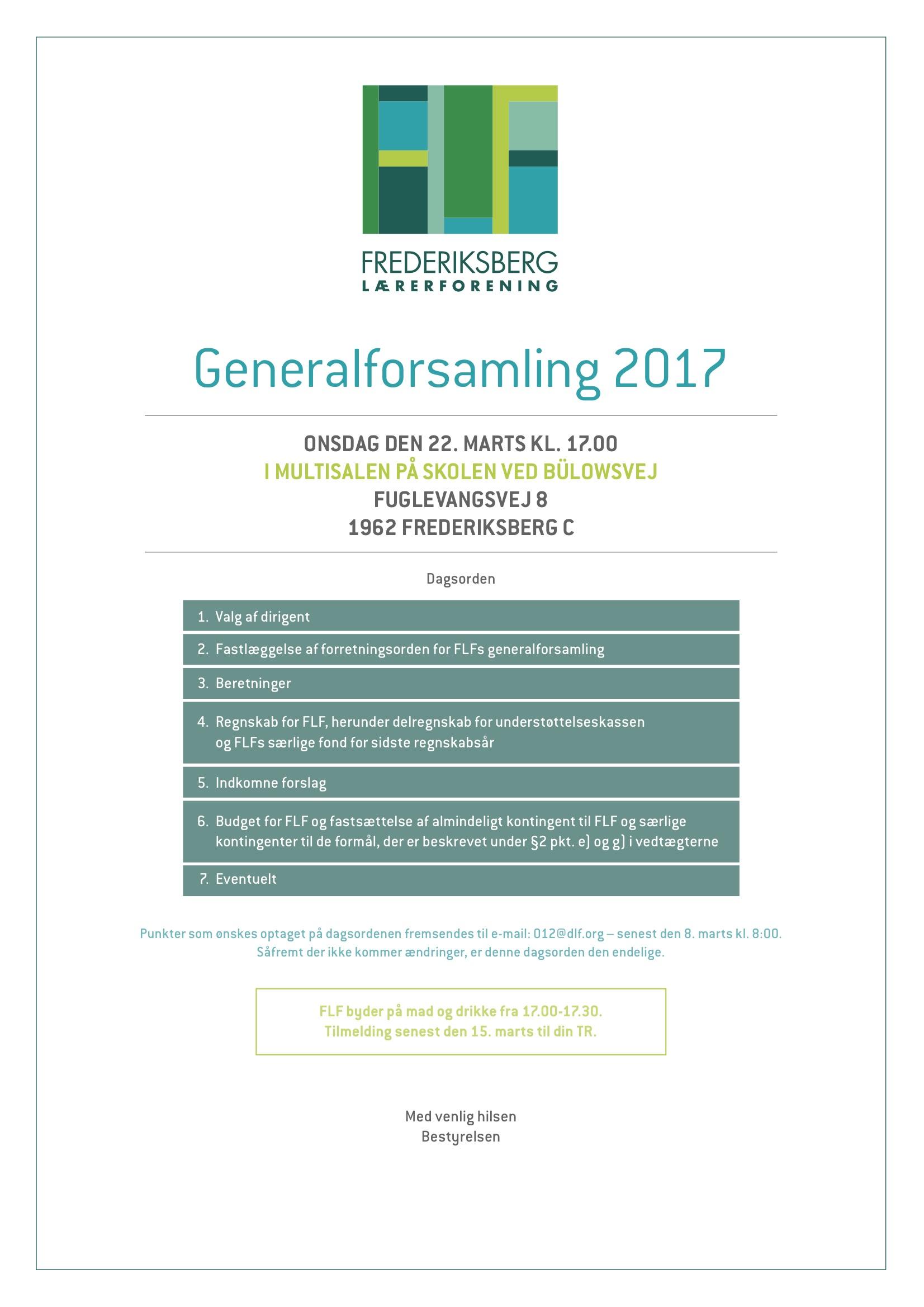 FLF generalforsamling 2017