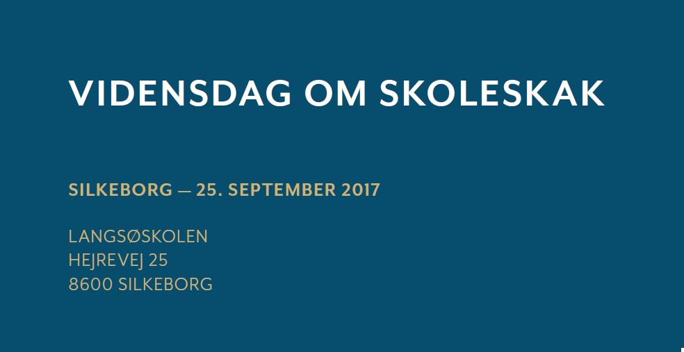 Lokal Vidensdag om Skoleskak, Silkeborg