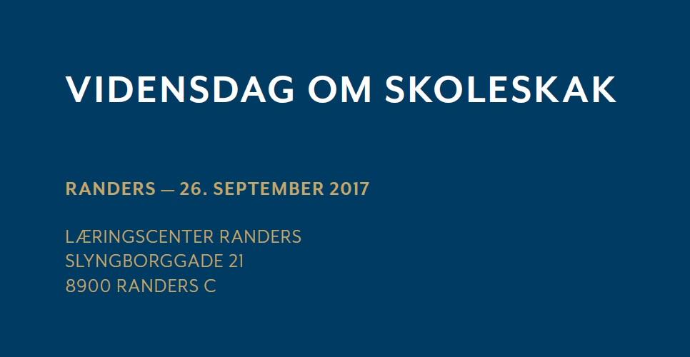 Lokal Vidensdag om Skoleskak, Randers