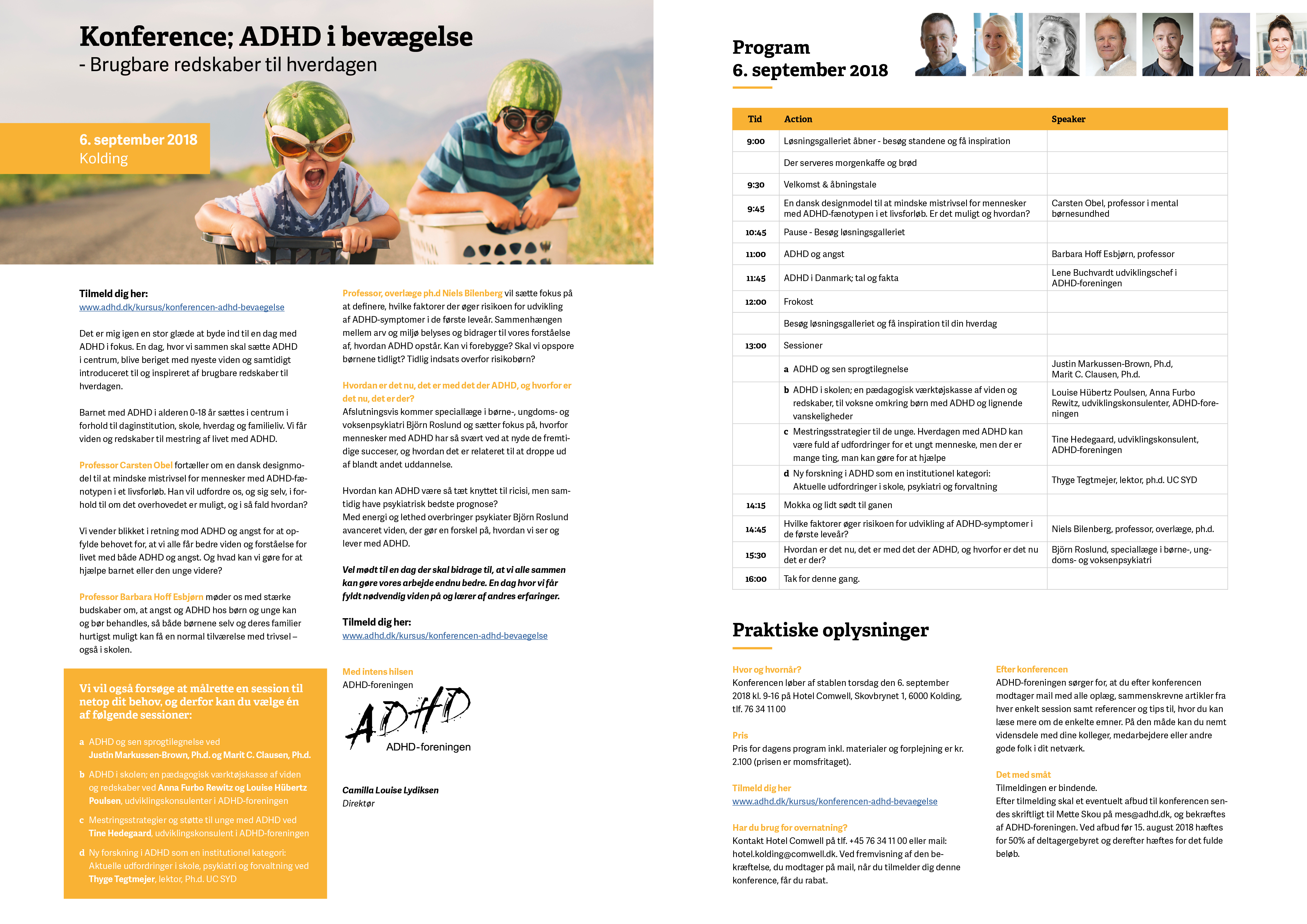 Konference; ADHD i bevægelse