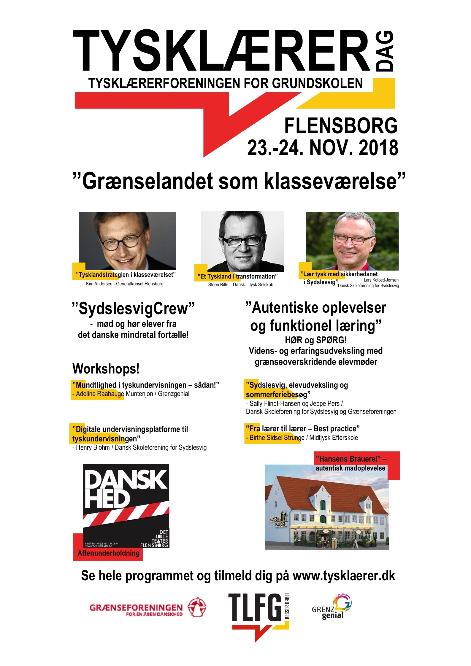 TYSKLÆRERDAG 2018
