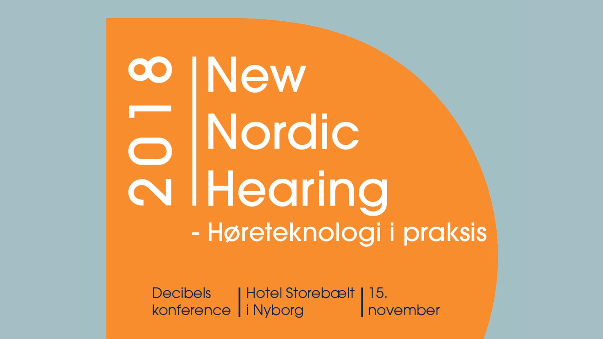New Nordic Hearing - Høreteknologi i praksis