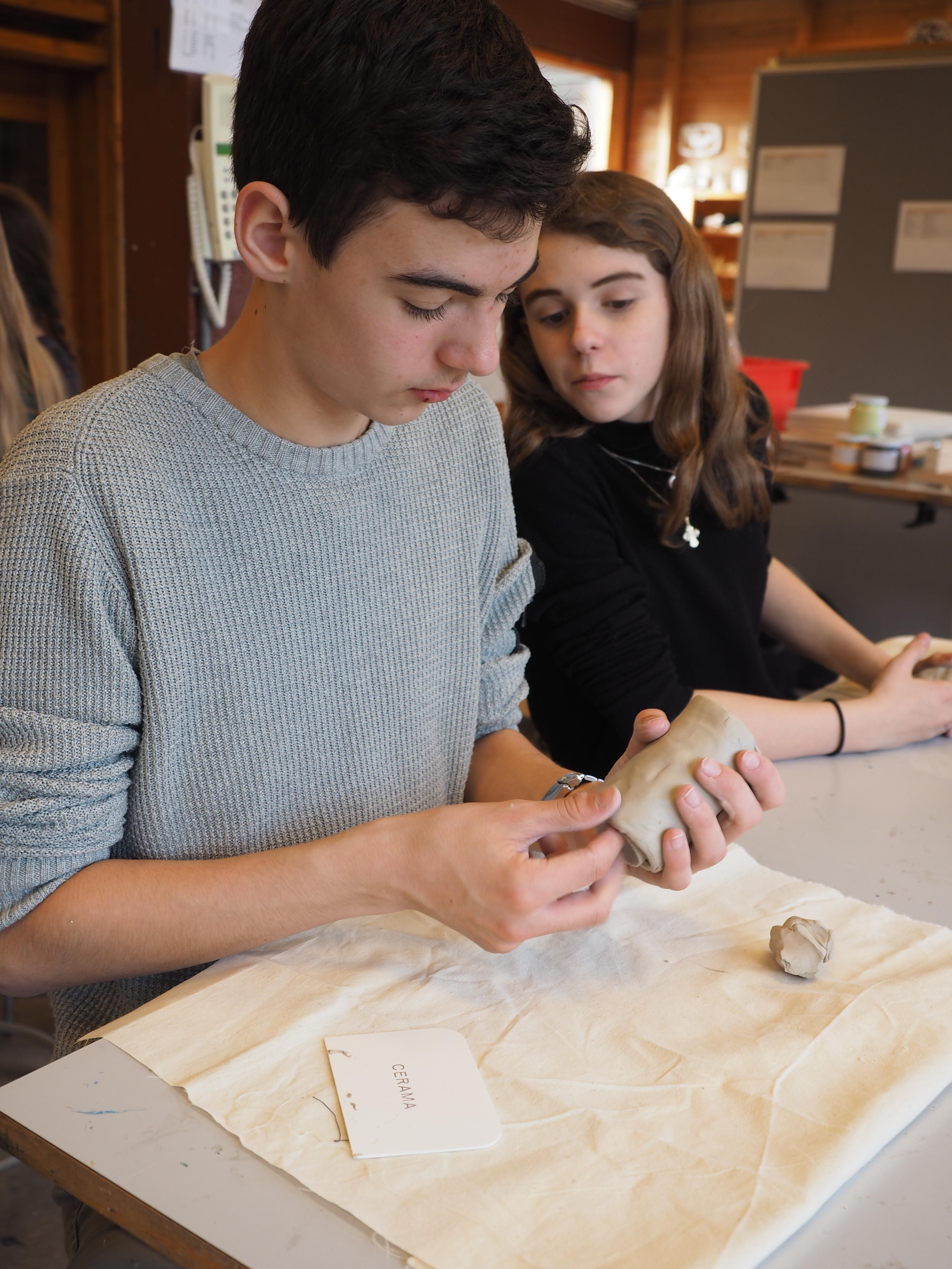 Intro til keramik i billedkunst og håndværk & design - ved Iben Vedel