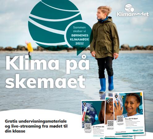 Børnenes Klimamøde 2021: Gratis undervisningsmateriale og event