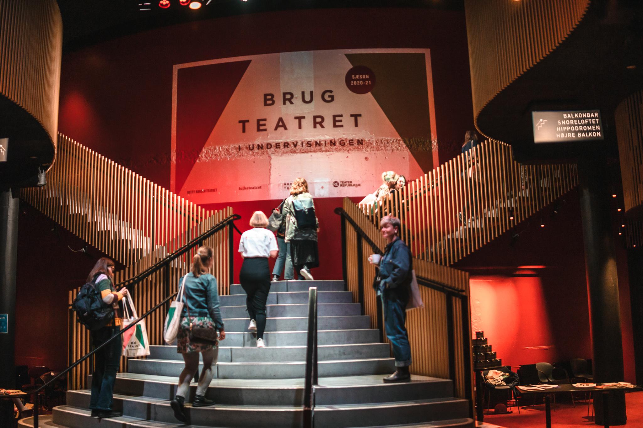 Brug Teatret i Undervisningen - fyraftensarrangement med sæsonpræsentation 10. august 2021