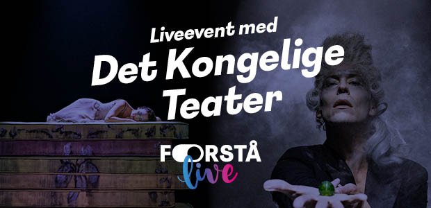 Det Kongelige Teater og Forstå.dk inviterer til et event om kreativitet, bevægelse og sansebaseret undervisning